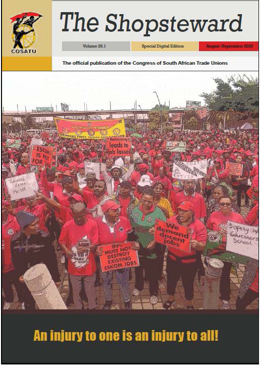 August Shopsteward magazine