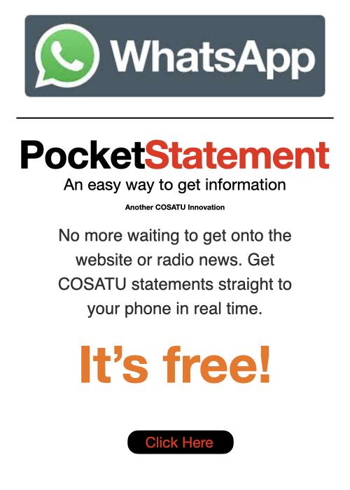 Pocket Statement Tab
